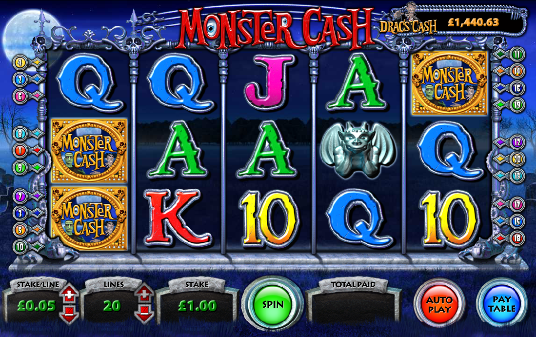Monster Slots Games