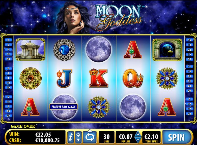 moon goddess slot