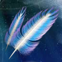 mystic wolf feather
