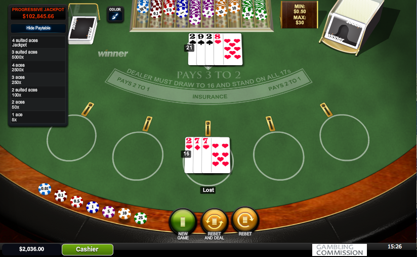 Play Progressive Blackjack Online at Casino.com