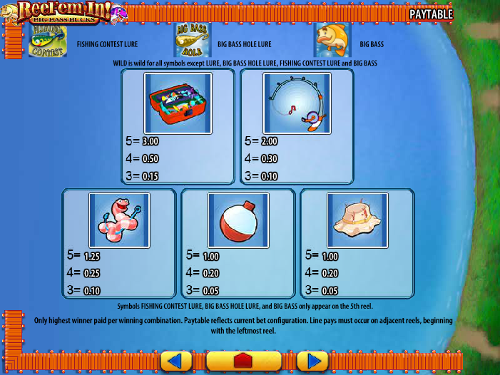 Reel 'em In Slots – Play Online for Free or for Real Money