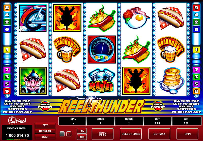 Reel Thunder™ Slot Machine Game to Play Free in Microgamings Online Casinos
