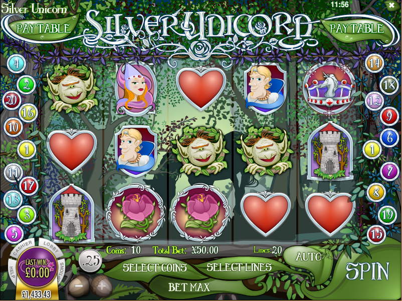 Silver Unicorn Slots - Play Free Casino Slot Games