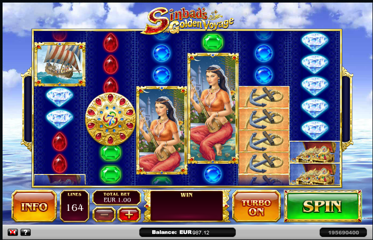 The Voyages of Sinbad Online Slot Review - Play Online Free