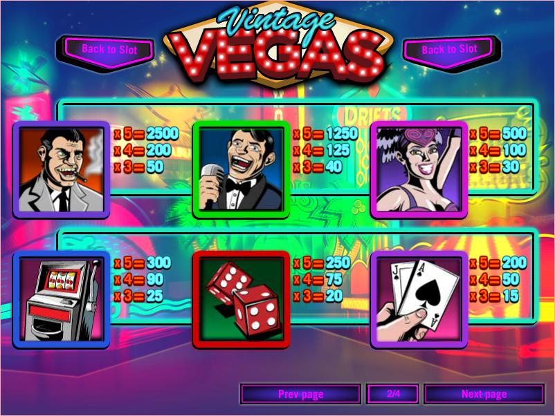 Spiele Vintage Vegas - Video Slots Online