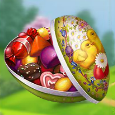 easter eggs scatter