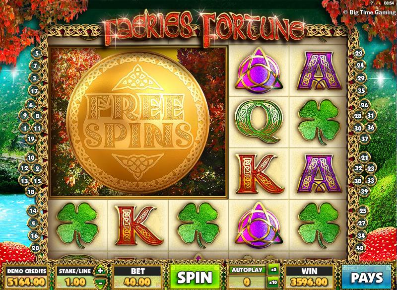 faeries fortune slot