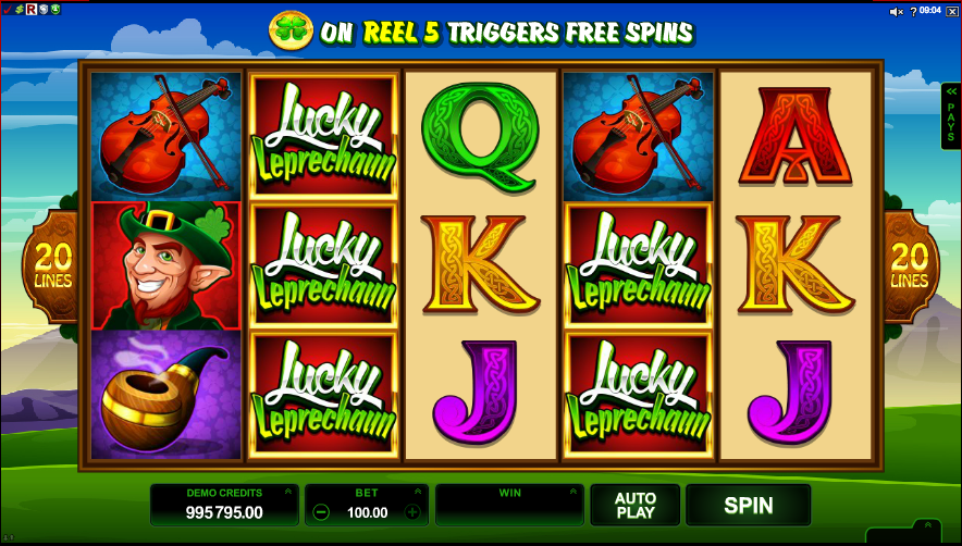 Lucky Irish - Review & Play this Online Casino Game