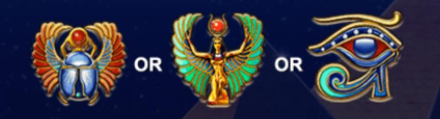 pharaohs secrets symbols