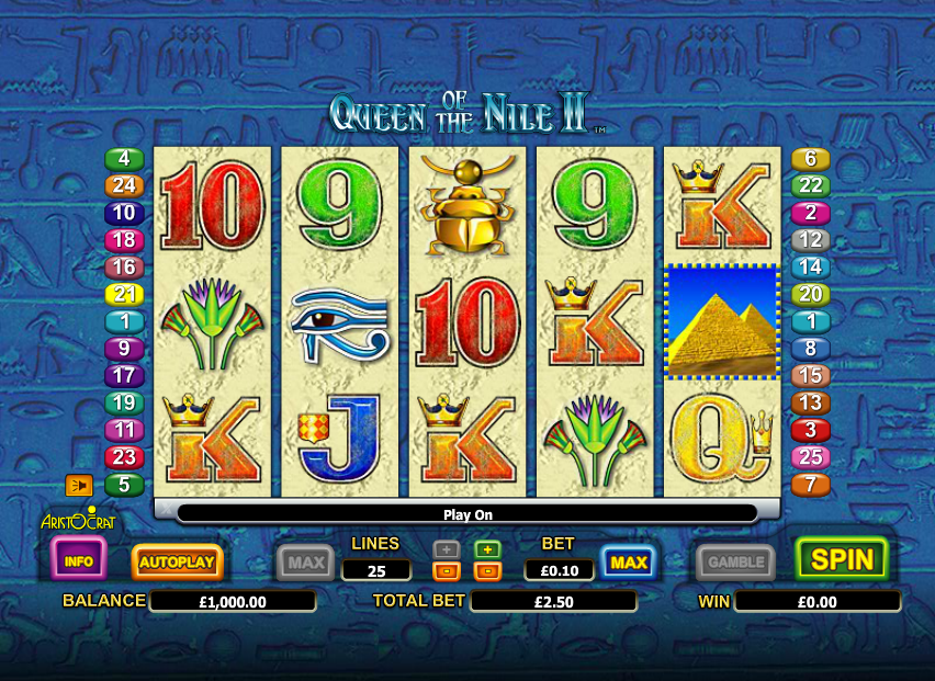 Free Casino Slots Queen Nile