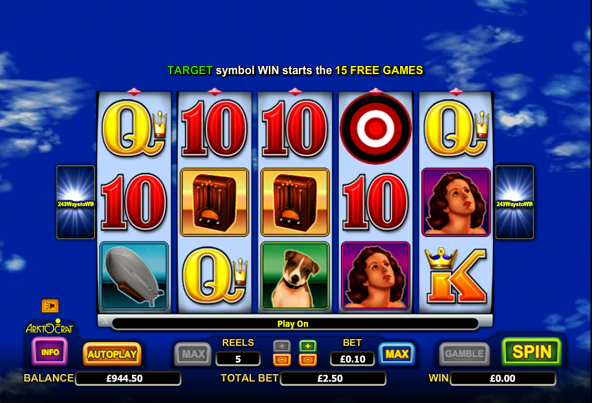 Sky Barons Slot - Play Free Casino Slot Machine Games
