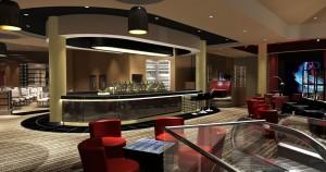 Inside the Riverlights restaurant.