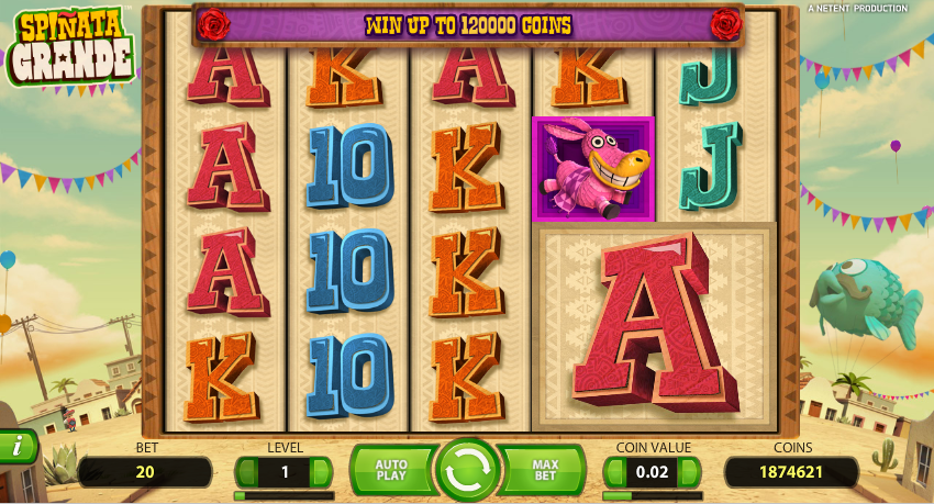Spiele Spinata Grande - Video Slots Online