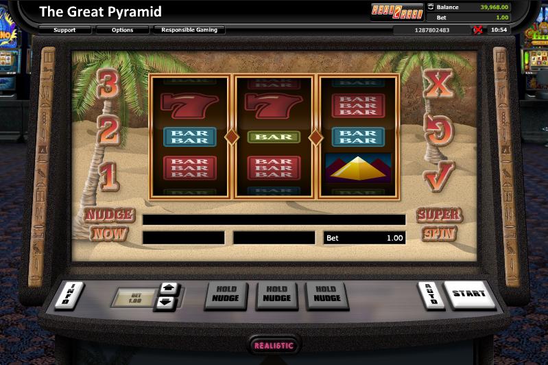 the great pyramid slot