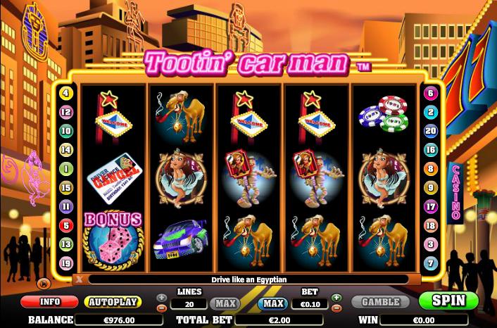 Spiele Tootin Car Man - Video Slots Online