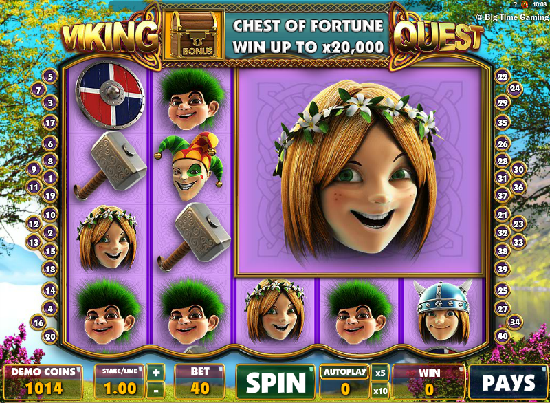 viking quest slot