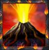 volcano eruption wild