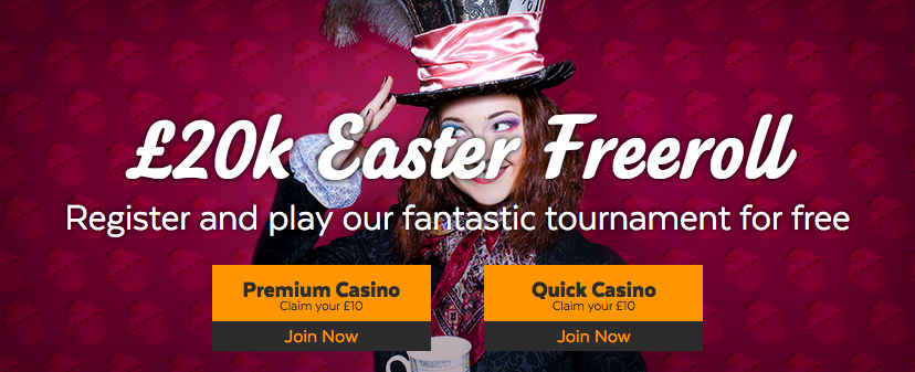 32red easter freeroll