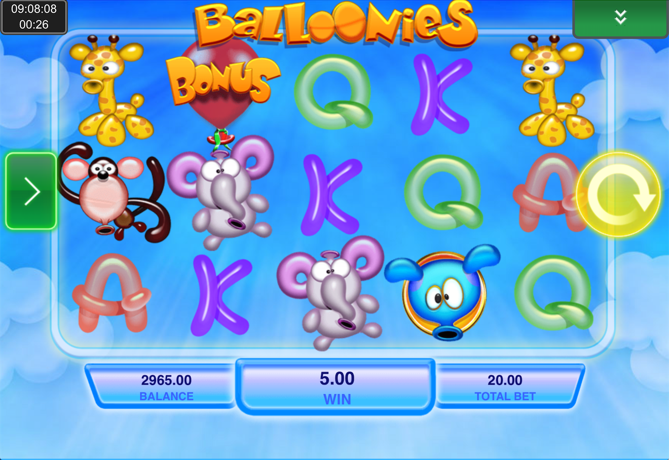 balloonies screenshot