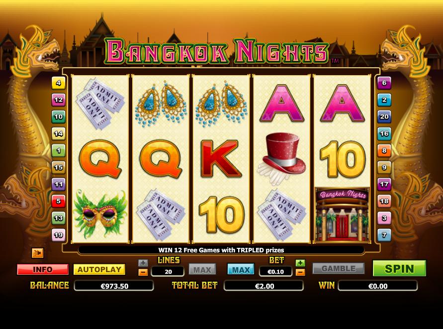 Bangkok Nights Online Slot Machine – Play Online for Free