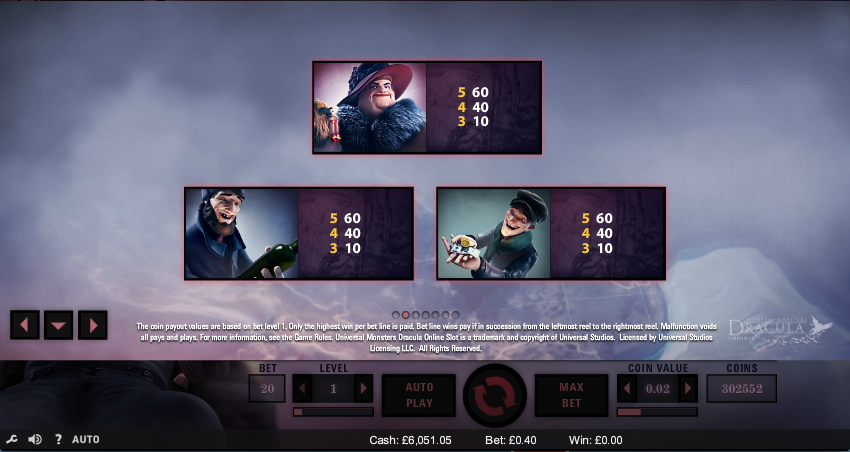 real slot games online dracula spiele