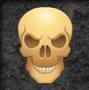 halloween horrors skull