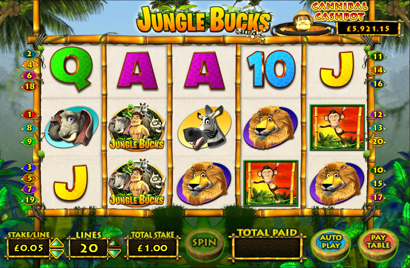 jungle bucks slot