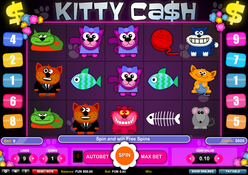 Spiele Kitty Cash - Video Slots Online