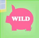 piggy bank wild