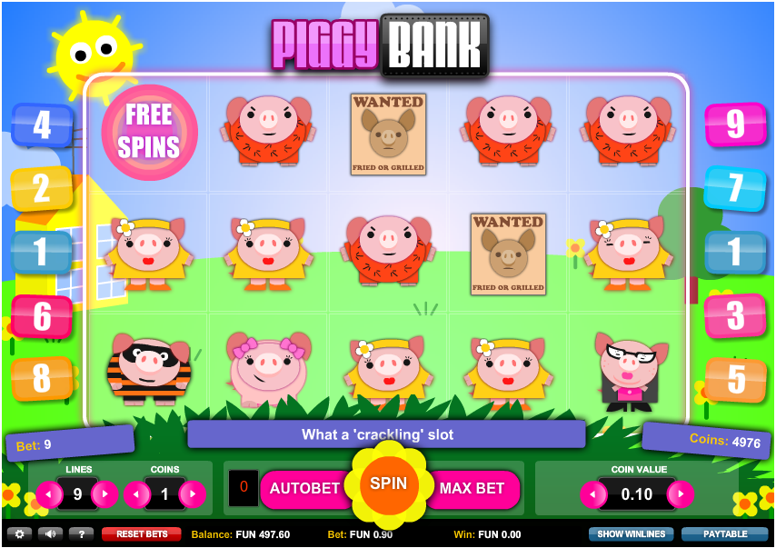 Piggy Bank Slots - Play Online Slot Machines for Free