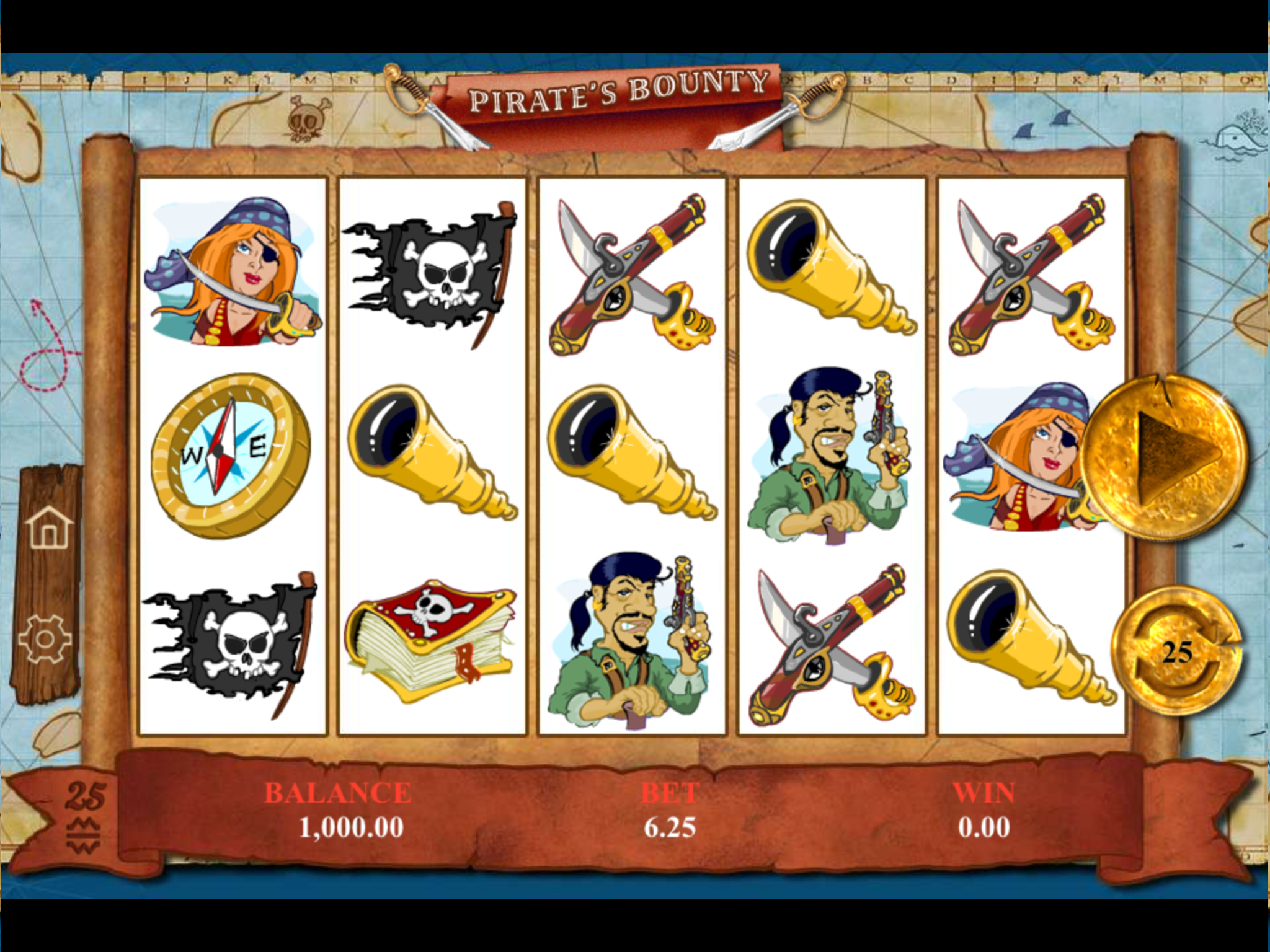 Five Pirates Slot - Available Online for Free or Real
