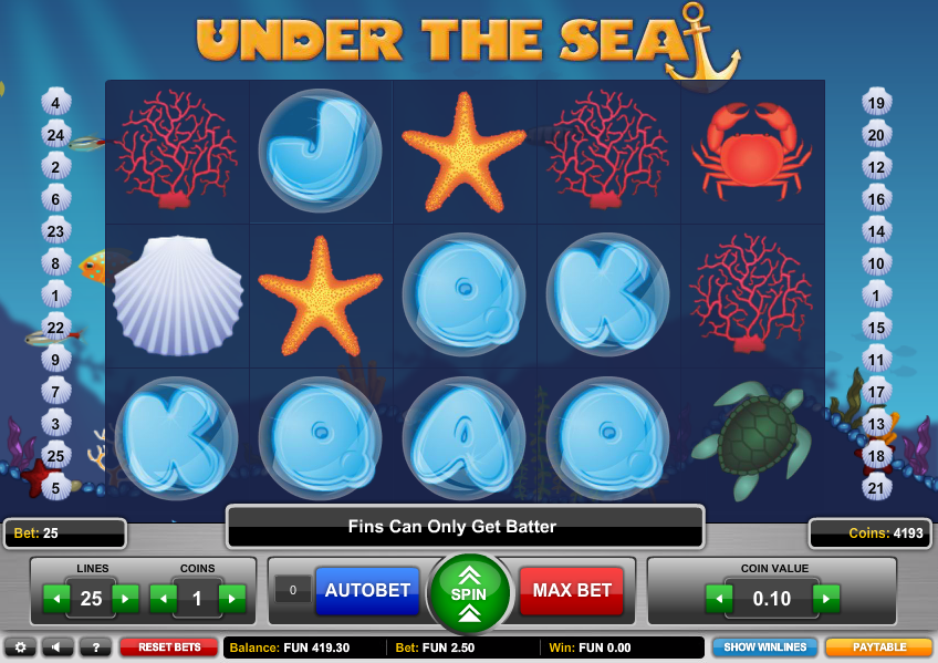 Under the Sea Slot Machine Online ᐈ BetSoft™ Casino Slots