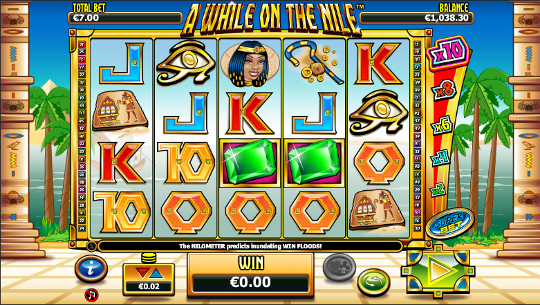 a while on the nile screenshot