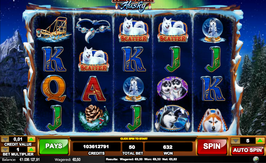 alaskan husky slot review