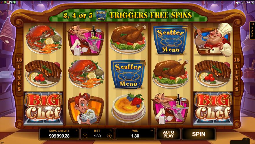 Spiele Big Chef - Video Slots Online