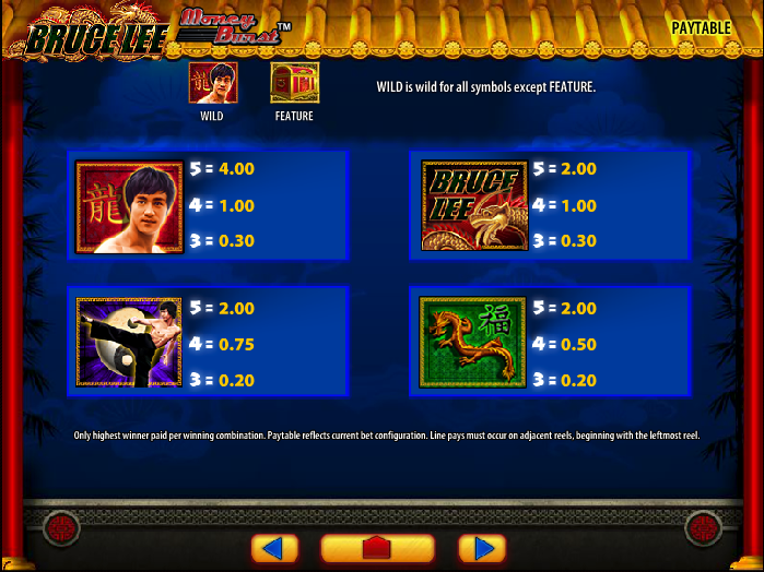 Bruce Lee Dragon's Tale Slots - Play Free Slot Games Online