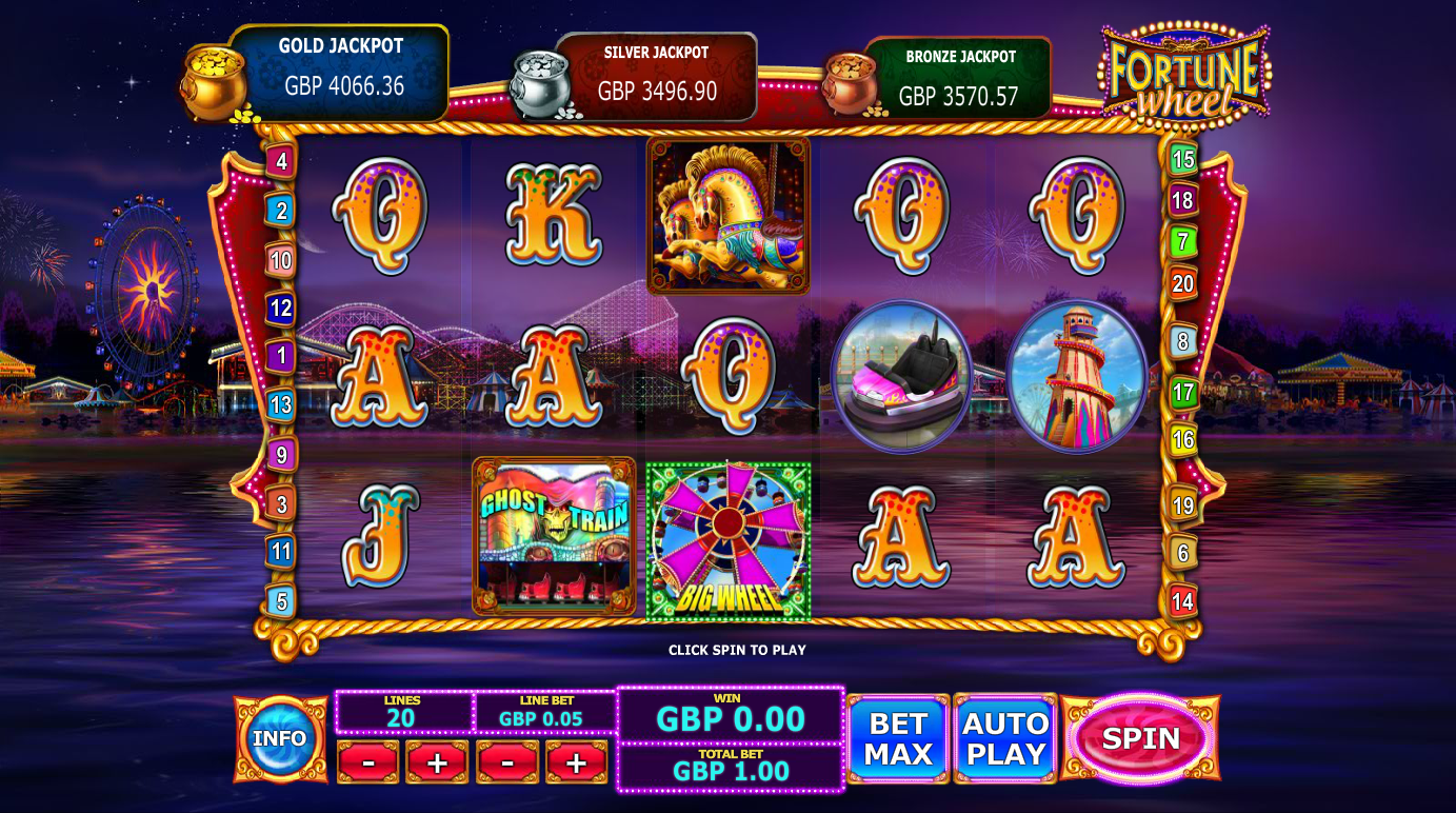 Fairground Fortunes Ghost Train Slot - Play for Free Online