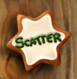 gingerbread joy scatter