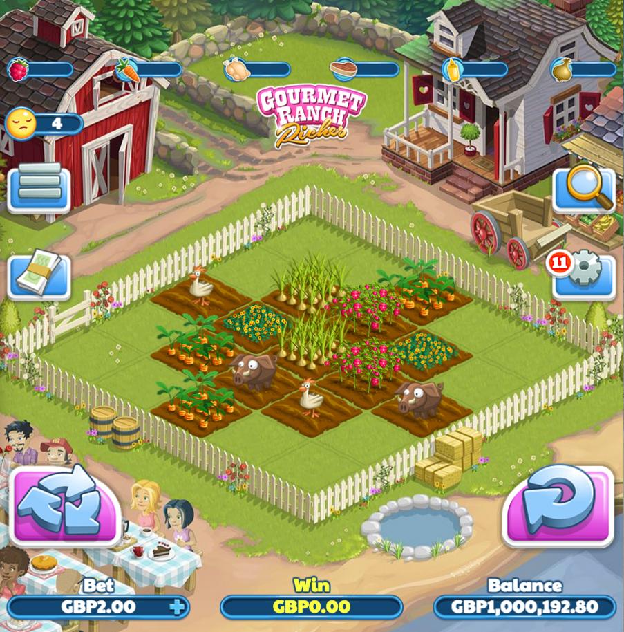 gourmet ranch riches slot