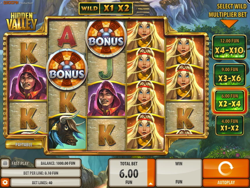 Spiele Hidden Valley - Video Slots Online