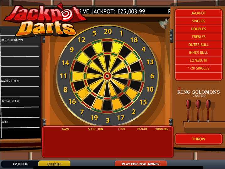 jackpot darts screenshot