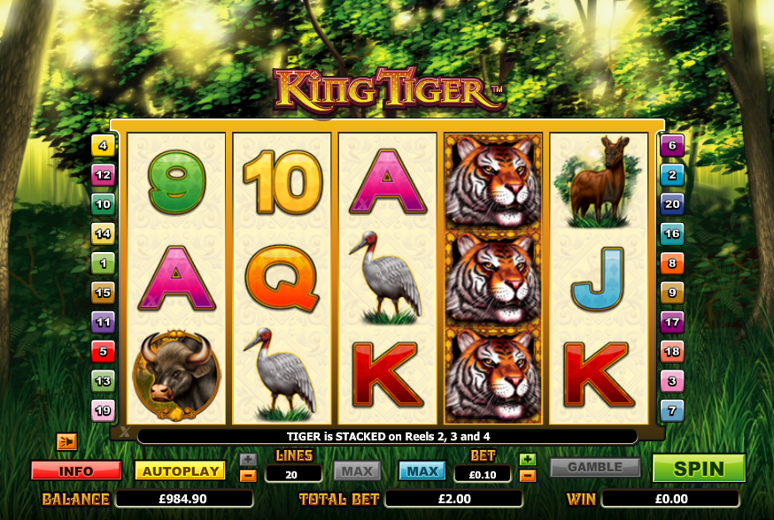 Temple Of The Tiger: Tiger Prince Slots - Play Free Online