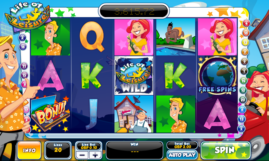 life of leisure slot