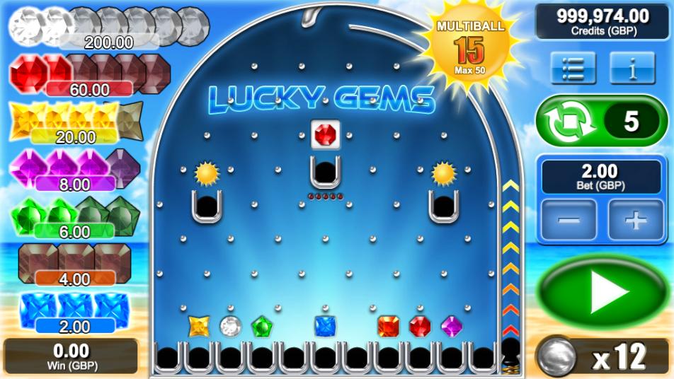 lucky gems screenshot