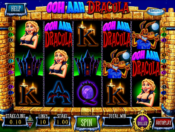 ooh aah dracula screenshot