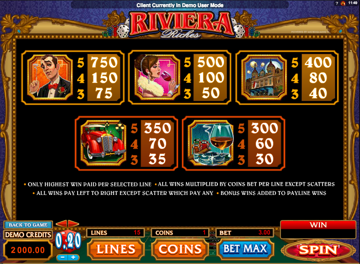 French Riviera Slots - Play Online Slot Machines for Free