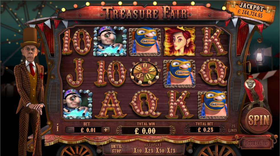 Treasure Fair Slot - Review & Play this Online Casino Game
