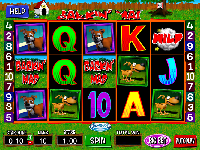 Barkin' Mad Slot Machine by Barcrest – Play Online for Free