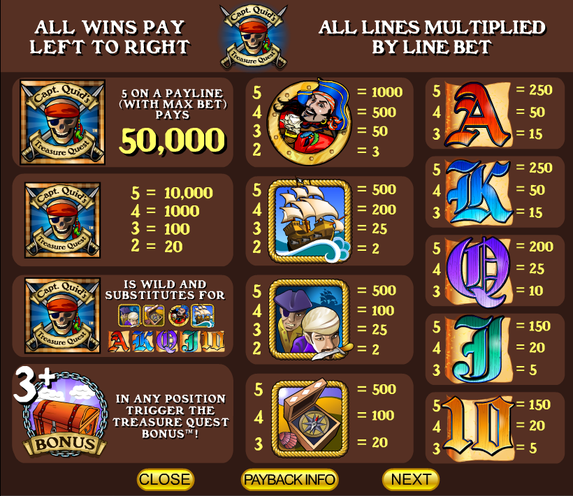 Capt. Quids Treasure Quest Slot Machine Online ᐈ IGT™ Casino Slots