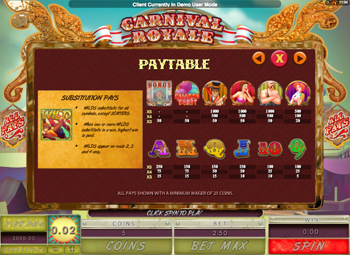 Carnival Royale Slots - Play Online for Free or Real Money
